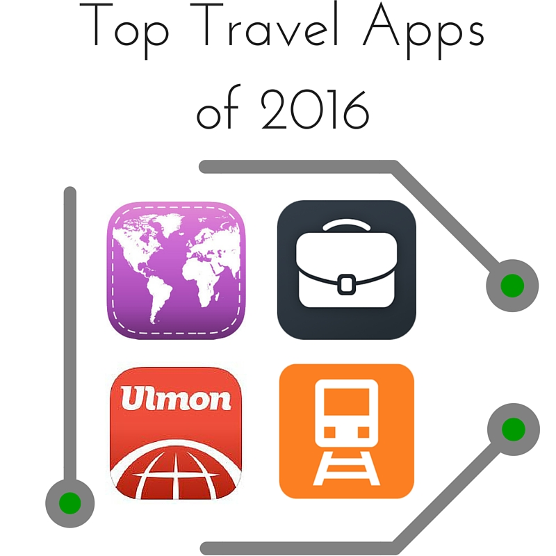 Top Travel Apps of 2016